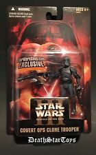 Star Wars Shop 2005 Exclusive Covert Ops Clone Trooper ROTS Order 66 Empire III