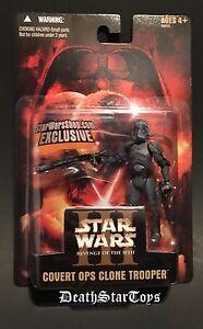 Star Wars Shop 2005 Exclusive Covert Ops Clone Trooper ROTS Order 66 Empire III