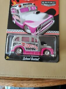Hot Wheels RLC 2013 Zamac Edition School Busted Mint On Mint Card