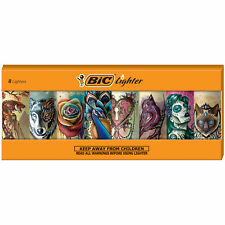 Bic Special Edition Tattoos Series Lighters, Set of 8 Lighters
