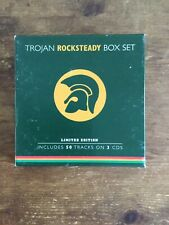Trojan Rocksteady Box Set Ethiopians uniques Maytals paragons Reggae Ska