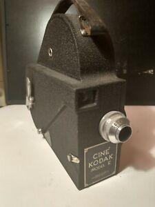 Vintage 1937 Cine Kodak Model E Camcorder 16mm Film Movie Video Camera
