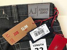 NWT - Armani Jeans J08 Slim Fit Jeans (Size-31X32)
