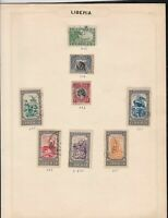liberia stamps page ref 16907