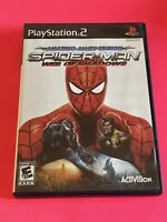 🔥 SONY PS2 PlayStation Two 💯 COMPLETE WORKING GAME 🔥SPIDER-MAN WEB OF SHADOWS
