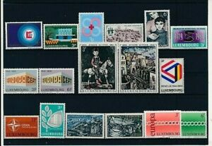 D083244 Luxembourg Nice selection of MNH stamps