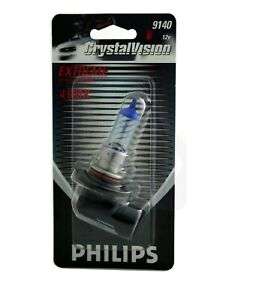 Philips Crystal Vision Ultra 9140 40W One Bulb Fog Light Upgrade Replacement OE