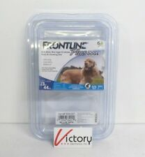 SEALED Frontline Plus for Dogs 6 Doses 23 to 44 lbs Kills Ticks Fleas Lice
