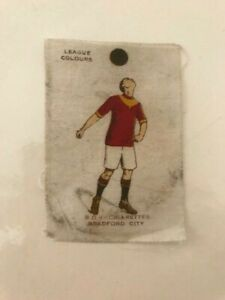 BRADFORD CITY, Godfrey Phillips,BDV Cigarette Football Colours Silk.1920/21