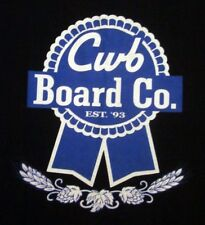 CWB BOARD COMPANY med T shirt Wakeboard beer parody Mike Dowdy surf tee