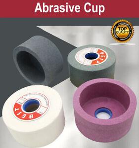 125mm Ceramic Grinding Wheel Abrasive Cup Corundum for Stone 40 60 80 100 120#
