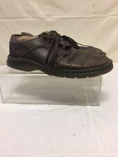 Dr Martens Mens Brown Leather Low Top Shoes Sz 11 M