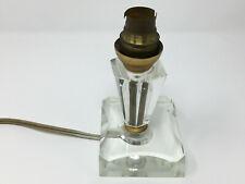 Lampe Cristal Vintage 1950  Design Lamp