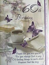60th Birthday Card - Lovely Verse