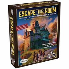 New Escape the Room Stargazers Manor Board Game. Uncover clues. Unravel Mystery