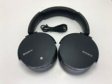 Sony MDR-XB950BT Wireless Bluetooth Headset Headphones Black USED (READ)