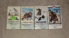 The Wilderness Family Lot of 4 VHS Videos Adventures, Part 2, Challenge, Across