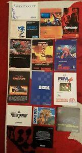 Nintendo SNES GAMEBOY N64 MANUALS INSTRUCTIONS JOB LOT BUNDLE *FREE UK DELIVERY*
