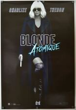 Atomic Blonde - original movie poster - 27x40 2017 - French CA
