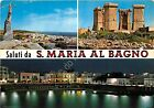 Cartolina - Postcard - Saluti da - S. Maria al Bagno - Vedutine - 1974 - VG