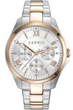 Esprit Uhr Uhren Damenuhr ES108442005 Edelstahl Markenuhr Armbanduhr NEU