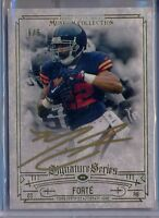 MATT FORTE - 2014 Museum Collection GOLD INK AUTO 5/5 = Chicago Bears SSP