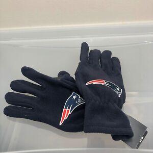 New England Patriots 47 Brand Winter Gloves. New NWT Blue Gloves. NFL Football
