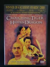 Crouching Tiger, Hidden Dragon Dvd With Case & Cover Artwork Buy 2 Get 1 Free
