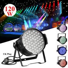 120W RGB DMX512 LED Light PAR Sound Disco DJ Party Club LED Stage Show Lighting