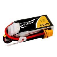 Tattu 850mAh 14.8V 45C 4S 1P Lipo Battery Pack with XT60 plug