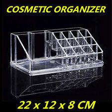 Makeup Organizer Cosmetic Clear Case Nail Art Lipstick Storage Box polish Holder