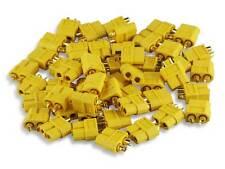 10x YUKI MODEL XT 60 Buchse Hochstrom 600049 XT60 Goldkontakt, Lipo , Nylon
