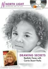 Drawing Secrets Realistic Faces With Carrie Stuart Parks [DVD]