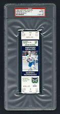 PSA 10 1994 JOE SAKIC UNUSED HOCKEY TICKET for the Nordiques at the Whalers