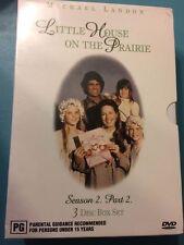 Little House On The Prairie : Season 2 : Part 2 (DVD, 2004, 3-Disc Set)