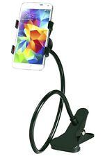 Mesa Soporte para el Teléfono Móvil Smartphone Cuello de Cisne Terminal Negro