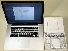 "Apple MacBook Pro 15"" Glossy A1286 2.3GHz Core i7 4GB RAM 500GB SSHD 10.12 2012"