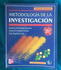 Metodología de la investigación -Tercera edición (Hernández Sampieri)