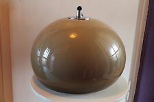 70er gran lámpara Space Age lámpara colgante 70s UFO Moon hanging lamp pendant marrón