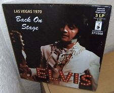 "ELVIS PRESLEY 5 LP 3 CD BOX SET ""BACK ON STAGE"" 2013 PIN-UP SEALED FEBRUARY 1970"