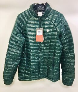 Men's Mountain Hardwear Ghost Whisperer Green Reversible Down Jacket Small NWT