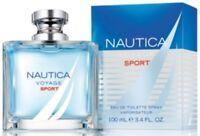 NAUTICA VOYAGE SPORT 3.4 oz 3.3 Cologne Spray for Men New in Box
