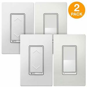 TOPGREENER WiFi Smart Dimmer Switch 3 Way Kit Handsfree / Voice Light Control