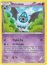Rhinolove - N&B:Pouvoirs Emergents - 37/98 - Carte Pokemon Neuve Française
