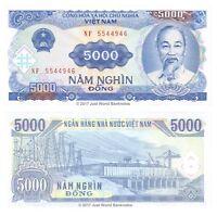 Vietnam 5000 Dong 1991 P-108a Banknotes UNC