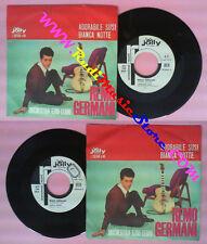 LP 45 7'' REMO GERMANI Adorabile susi Bianca notte 1962 italy PROMO no cd mc dvd