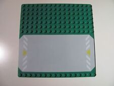 Lego: Green base plate ~ convención 16x16 6434 6478 6435 (30225p01)