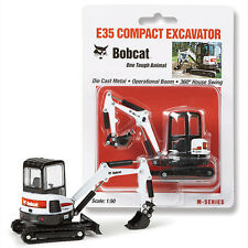 NEW 1:50 *BOBCAT EQUIPMENT* Model E35 Compact Excavator DIECAST MODEL *NIP*