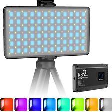 Weeylite RGB LED Video Light, Dimmable Bi-Colur 2500K~8500K Light Panel