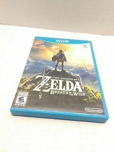 The Legend of Zelda: Breath of the Wild (Wii U, 2017)  Tested Fast Shipping